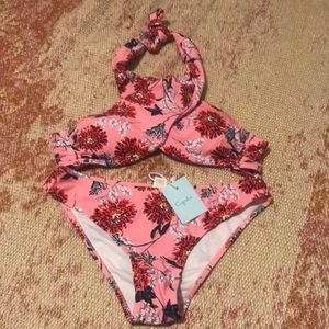 Pink Cupshe swimsuit
